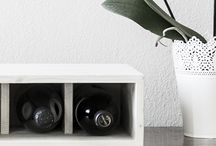 Our Vesoto Flat / 6 bottles Flat wine rack: stylish and trendy.