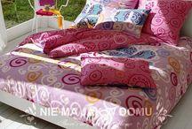 BENETTON - nowoczesna sypialnia pełna kolorów. / Pościel Benetton - kolory i nowoczesne wzory.