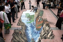 Art: Painted Optical Illusion