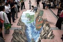 Art: Painted Optical Illusion