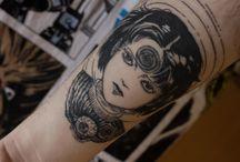 Manga Tattoos