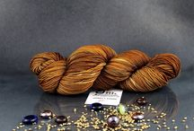 Our Hand Dyed Yarns on Etsy