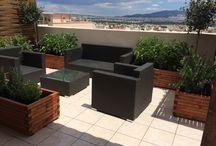 Roof garden / Roof garden in Athens!!!!