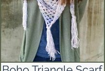 Crochet Scarves and Shawls