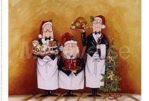 ArteCulinario - Chefs, cuisiniers, maitres d'hotel / Art deco cuisiniers et maitres d'hotel