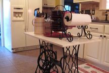 uses for old sewing machine stands