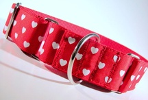 Collar Habit Dog Collars / Made to order dog collars, leashes and harnesses - featuring martingale collars. / by Big Doggy Bling