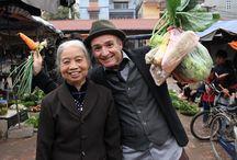 Manger le monde - Cuisine Asiatique / Inspiré par l'émission Manger le monde de Bruno Blanchet à Zeste, voici un tableau sur la cuisine asiatique.