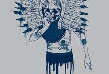 calavera mexican art-saner