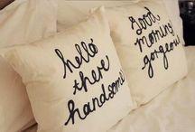 Pillow Love /  Colorfuland Decorative pillows