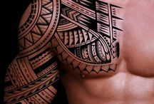 Polynesian tattoo,s