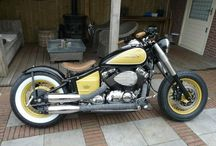 Yamaha xvs 650 bobber