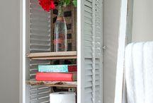 old shutters & windows
