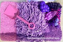 Preschool-purple theme week