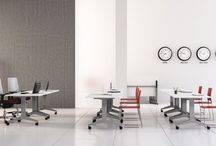 Training spaces / Office furniture and concept for learning, study, teaching, training