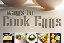 FOOD --EGGS, OMLETTES ETC