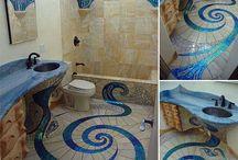 Benzersiz Şaşırtıcı Mozaik Banyo Tasarımı / Benzersiz Şaşırtıcı Mozaik Banyo Tasarımı http://www.dekordiyon.com/mozaik-banyo-tasarimi/ #MozaikBanyoDekorasyonu