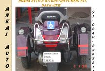 Side wheel Attachment (Honda Activa)
