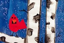 Winter Art Projects / Winter Art Projects for my class