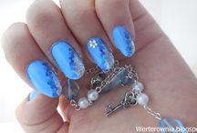 Paznokcie / Wykonane przeze mnie paznokcie :)