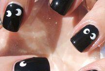 Nail halloween design