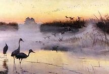 painting - chelmonski.