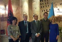 Notizie, Dichiarazione di Bruxelles, Erion Veliaj, Pledge to Peace, Tirana