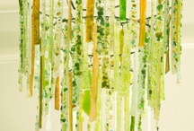 Green and Yellow / Fresh and bright sprig pallet with real attention to detail