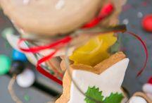 Christmas cookies ideas / Μπισκοτάκια σε εορταστική διάθεση...