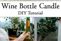 Wine bottle atelier