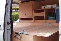 Mini camper met hefdak bouwen