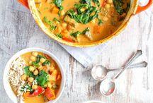 Vegetarian Dinner Recipes / Seasonal vegetarian dinners for the entire family.