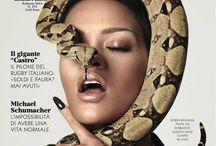 Snake model / Art with women and snakes