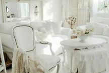 Белый интерьер