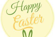 Happy Easter! Oster-Ideen  / Alles was dein zu Hause für Ostern schöner macht.  Great ideas to decorate your home at Easter.