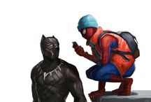 Spider-Man and Black Panther