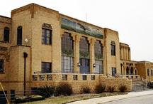 The Original Wichita Municipal Airport / The building that the Kansas Aviation Museum calls home. Photography, Art Decor, Historic Landmark