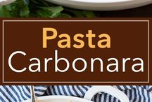 Pasta and -dishes, -sauces