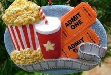 Themed Christmas Tree - Movie Theater