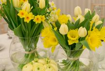 Easter Celebration / Celebrate the arrival of spring with this wedding decor, complete with an abundance of blooms for a fresh feel.