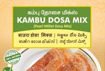 Millet Dosa/chapati Mix Products / List of traditional food products that we offer from www.nativefoodstore.com