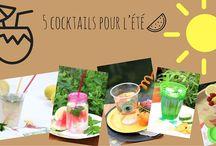 Cocktails de l'été / Des cocktails aussi fun que bon!