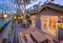 Venice beach canals house
