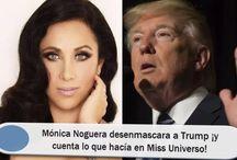 Mónica Noguera desenmascara a Trump ¡y cuenta lo que hacía en Miss Universo!