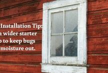 Home Improvement Tips / Door and Siding Installation Tips