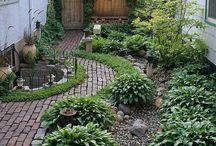Garten Sitzplätze Gestaltung Beete Rabatten