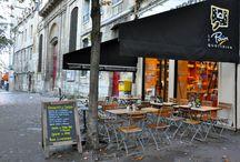 Design de nos restaurants / Découvrez le design de nos restaurants parisiens, avec un point central commun : la table commune