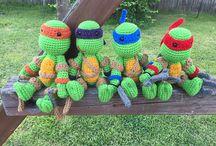 Crochet - Ninja Turtles