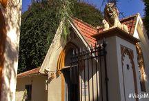 Cementerio Inglés o Cementerio de San Jorge, Málaga. / Por la tranquilidad y la luz que desprende, porque sus tumbas y mausoléos son considerados monumentos, por su historia, por las sensaciones que transmite pasear por sus caminos, por todo ésto y mucho más, ven a visitar el Cementerio Inglés de Málaga.