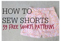 DIY Shorts / DIY Shorts. Show off your legs this summer with these easy short patterns. From kids' patterns to shorts for women, these shorts patterns are perfect for the whole family.
